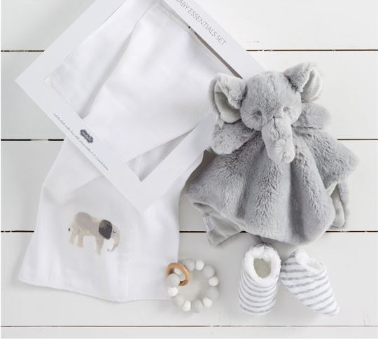 Elephant Baby Gift Set - Little Threads Inc. Children's Clothing