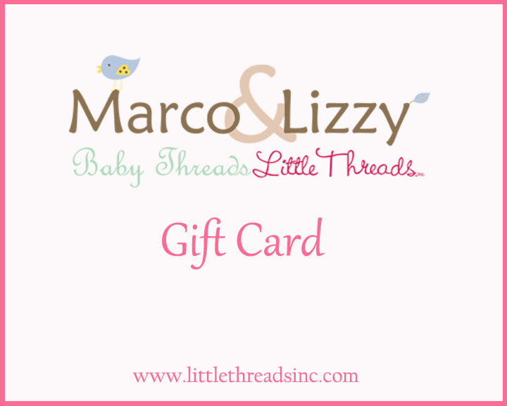 Gift Card - Little Threads Inc. Children's Clothing
