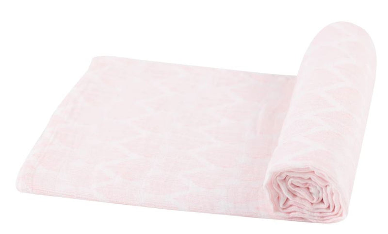 Pink hearts  baby Swaddle - Little Threads Inc. Children's Clothing