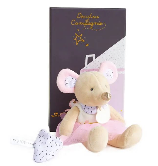 Girl's Mouse Plush Toy - Little Threads Inc. Children's Clothing