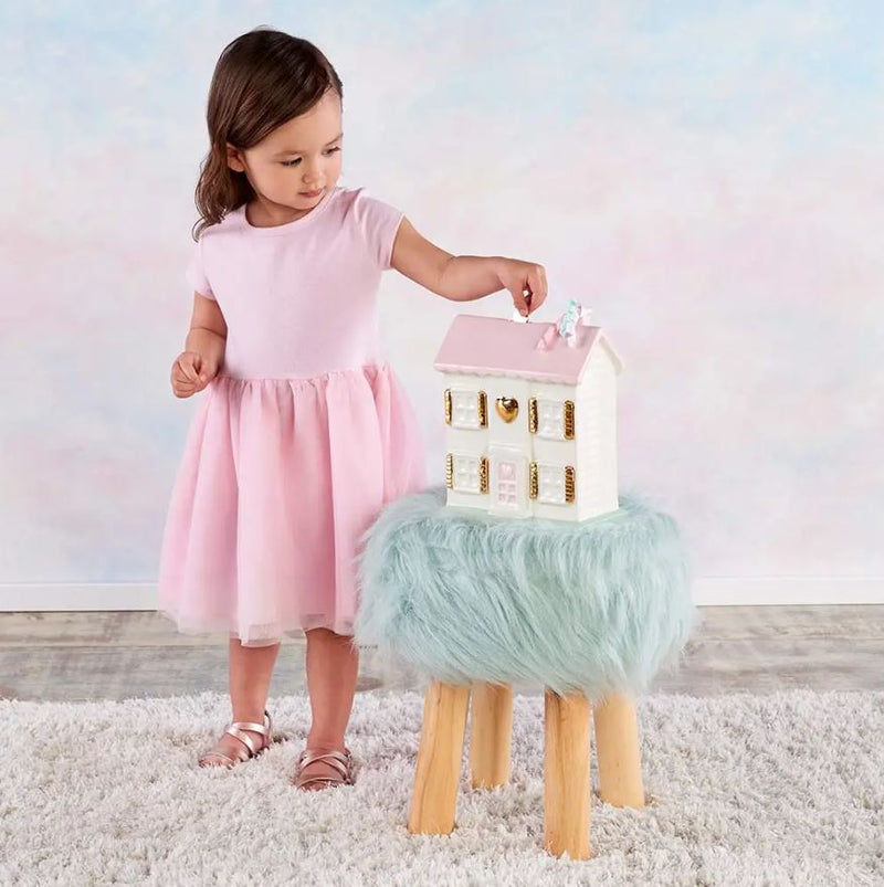 Porcelain Doll House  Bank - Little Threads Inc. Children's Clothing