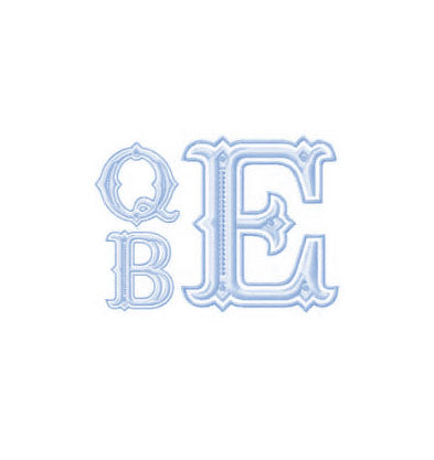 Queen Bees Embroidery Monogram - Little Threads Inc. Children's Clothing