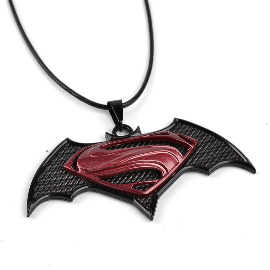 Superman vs Batman Necklace