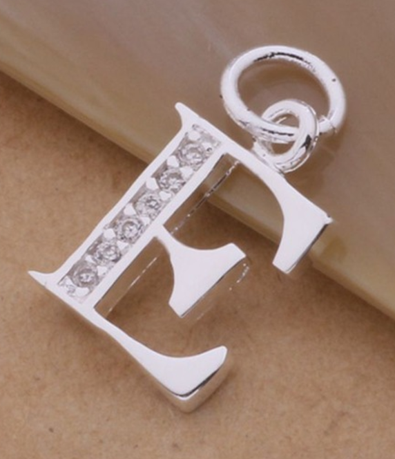 Necklace Letter A-S