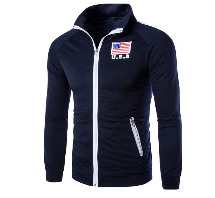 High Quality Zipper Sweatshirt Men's - United States