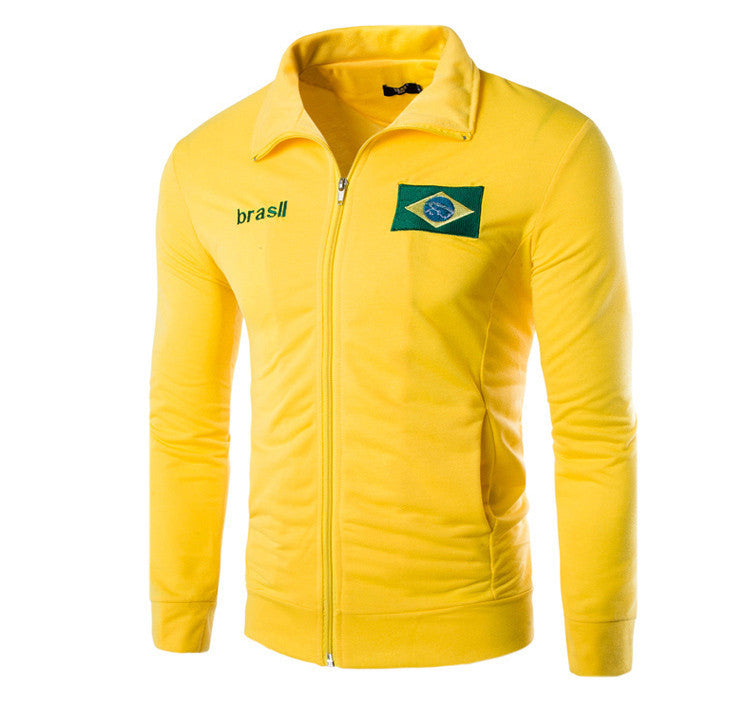 High Quality Zipper Sweatshirt Men's - Brazil
