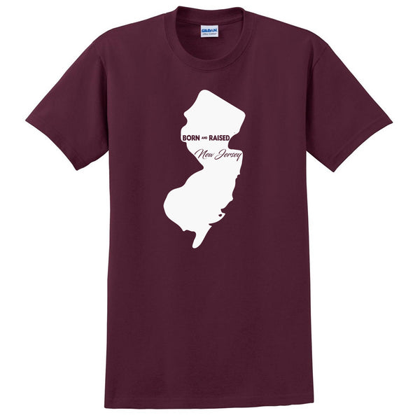 Born and Raised New Jersey T Shirt