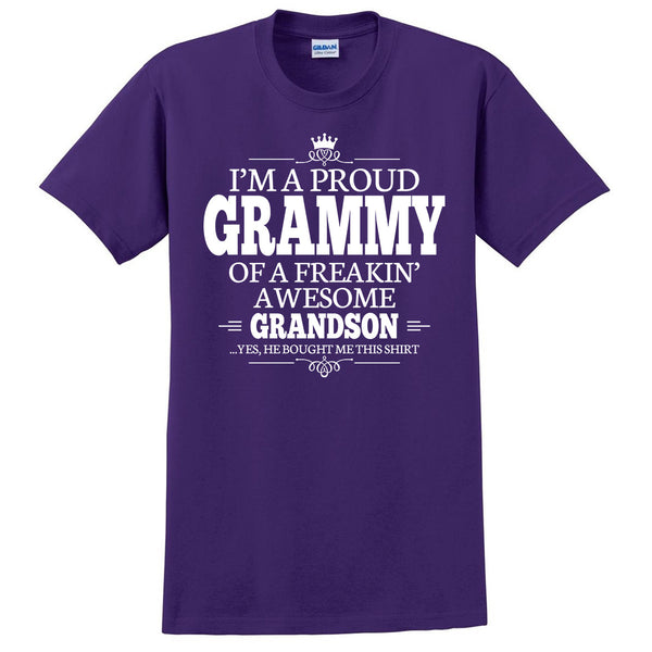 I'm a proud grammy of a freakin' awesome grandson T Shirt