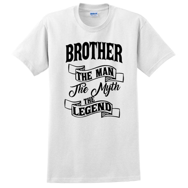 Brother the man the myth the legend t shirt birthday Christmas xmas gift ideas for him