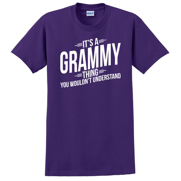 It's a grammy thing you wouldn't understand t shirt  mother's day birthday Christmas xmas shirt gift for her