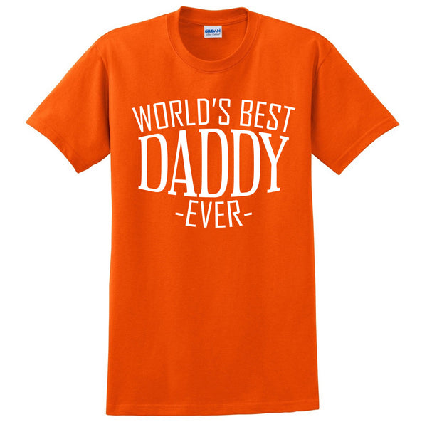World's best daddy ever t shirt father's day  birthday christmas holiday gift for him