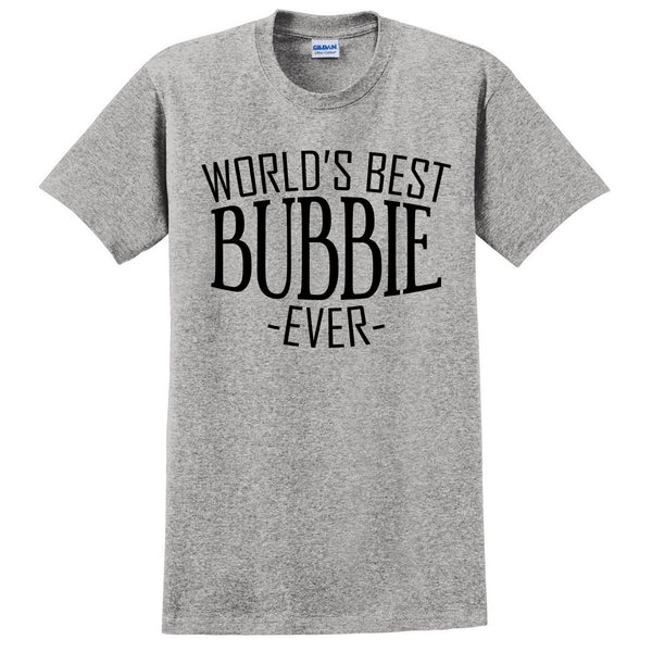 World's best bubbie ever t shirt family mother's day birthday christmas holiday gift ideas  best   grandma grandmother