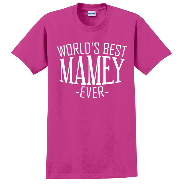World's best mamey ever t shirt family mother's day birthday christmas holiday gift ideas  best grandma  grandmother