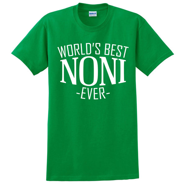 World's best noni ever t shirt family mother's day birthday christmas holiday gift ideas  best grandma  grandmother