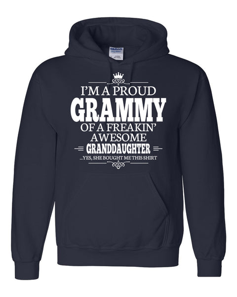I am a proud grammy of a freaking awesome granddaughter Hoodie