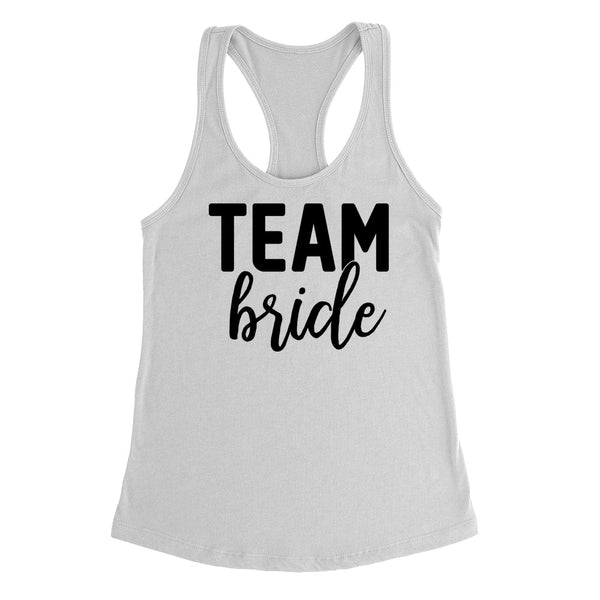 Bridesmaid tank tops, wedding tank top, bride squad, bridal party Tank Top