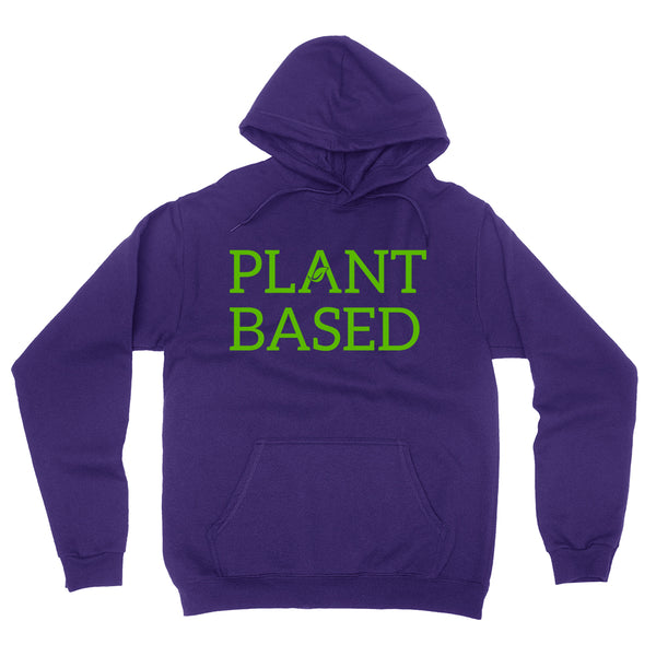Plant based cute funny cool humor vegan, gifts for vegan, birthday holiday Christmas  Hoodie