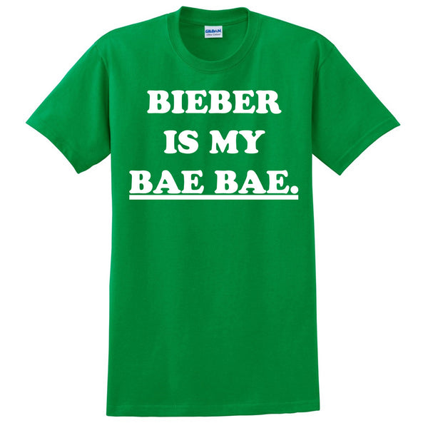 Bieber is my bae bae T Shirt