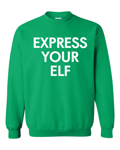 Express yourself Crewneck Sweatshirt