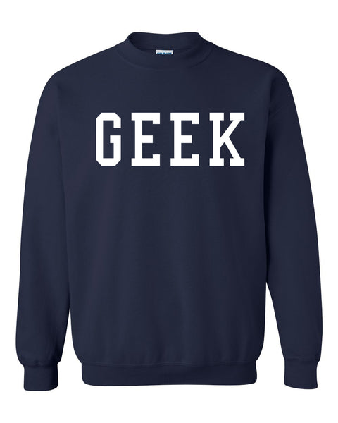 Geek Crewneck Sweatshirt