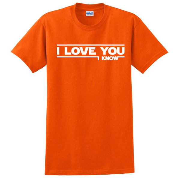 I love you - I know (Star Wars) T Shirt