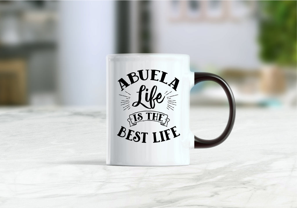 Abuela life is the best life mug, Mothers day gift, mug for abuela, abuela coffee mug