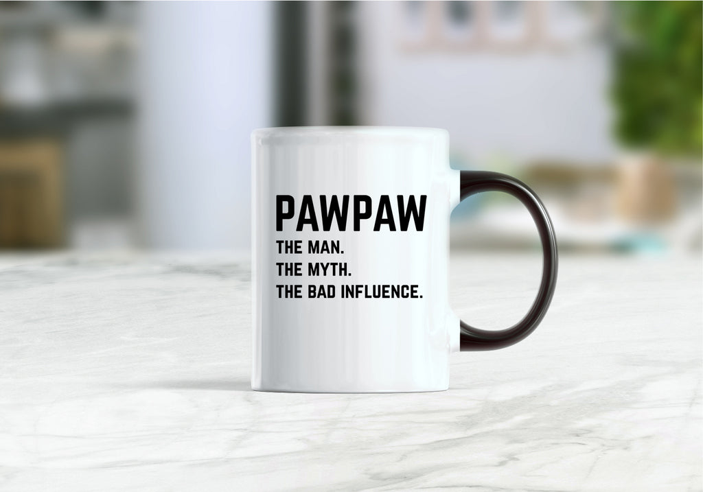 Pawpaw the man the myth the bad influence coffee mug