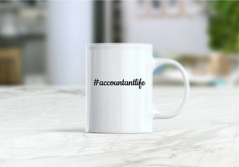 Accountant life gift, Accountant life coffee mug