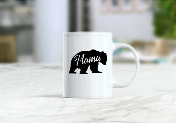 Mama bear, mom gift coffee mug