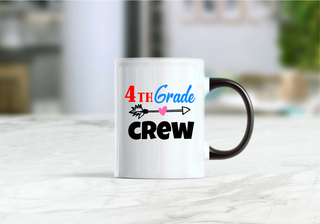 4th grade crew coffee mug