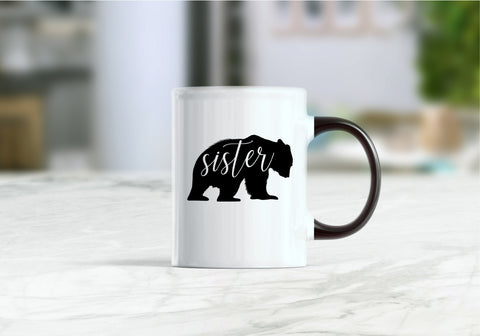 Sister bear coffee mug