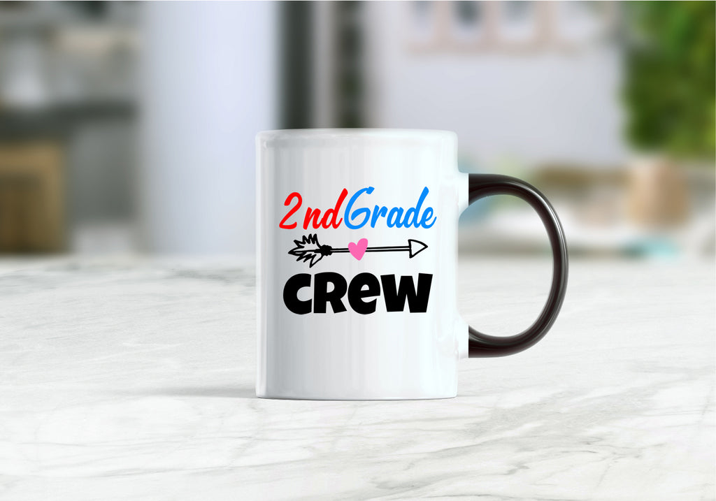 2nd grade crew coffee mug