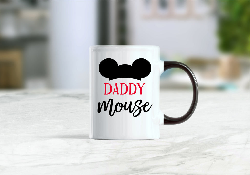 Daddy mouse coffee mug