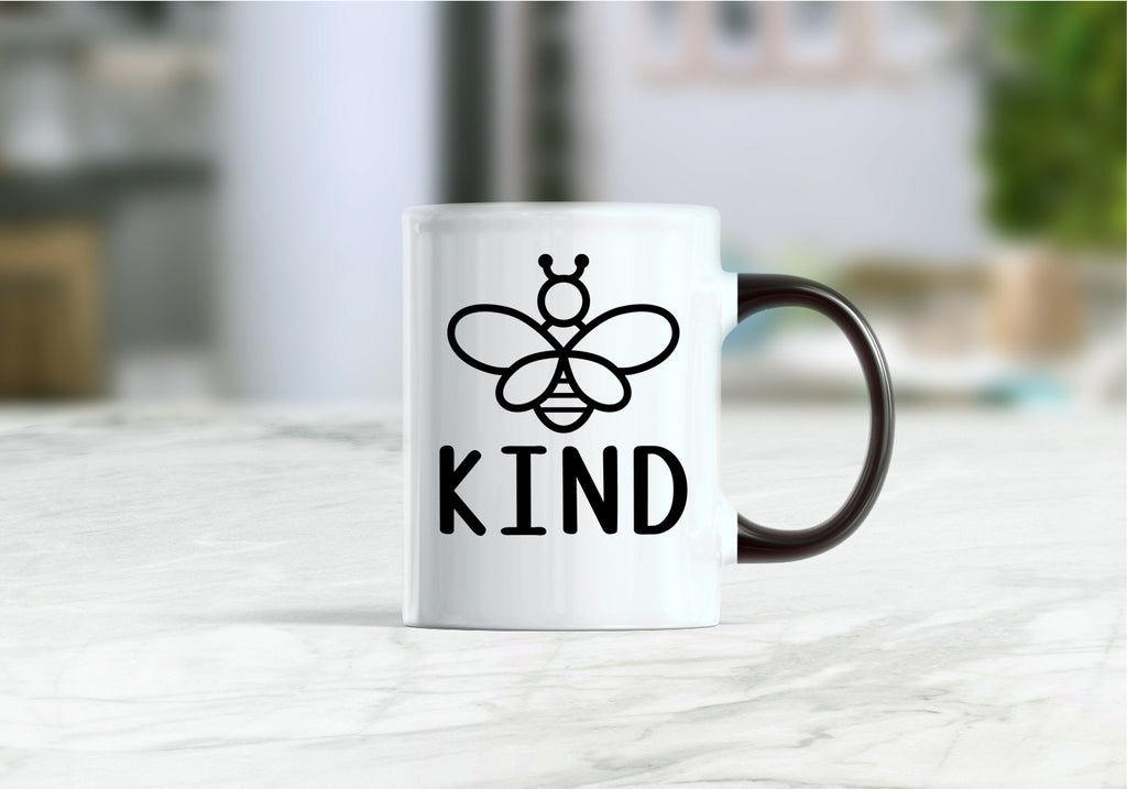 Bee kind, be kind, kind coffee mug
