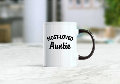 Most - loved auntie coffee mug