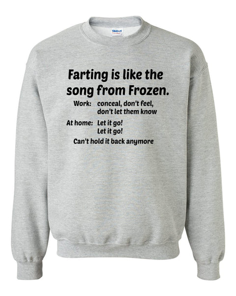 Farting Crewneck Sweatshirt