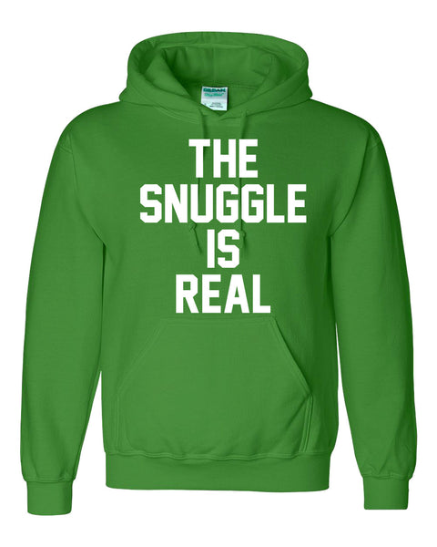 The snuggle is real Hoodie