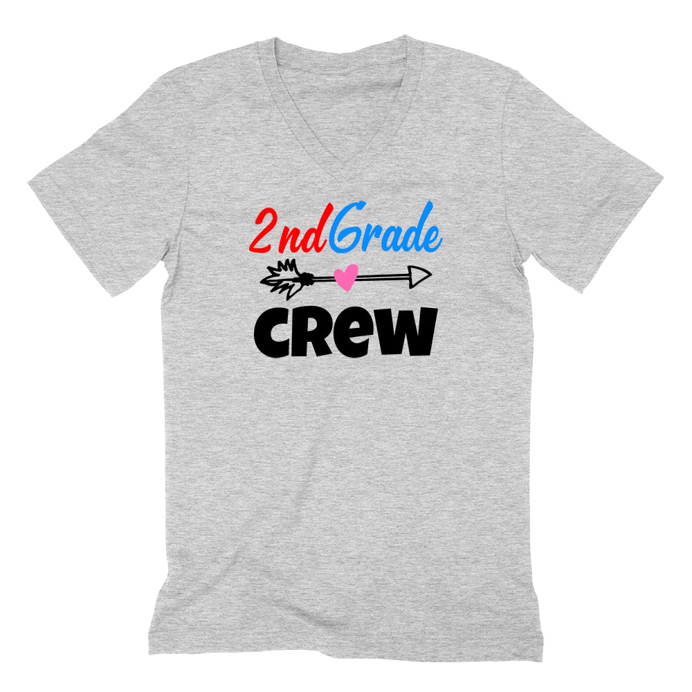 2nd grade crew V Neck T Shirt