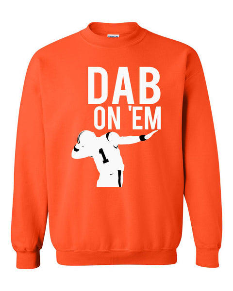 Dab on em Crewneck Sweatshirt