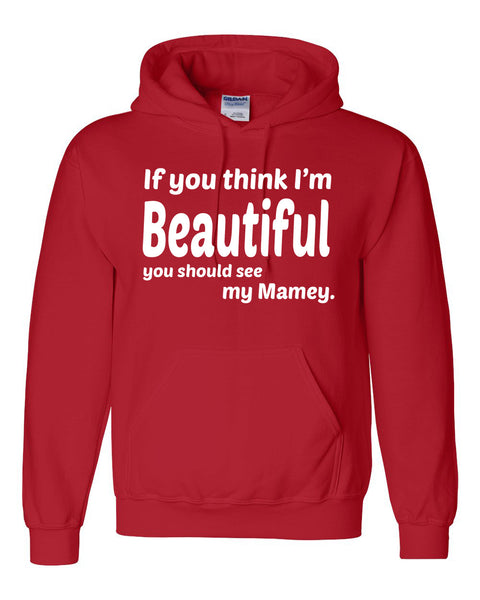 If you think I'm handsome you should see my mamey Hoodie