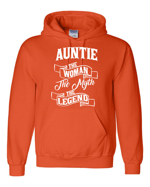Auntie the woman the myth the legend Hoodie