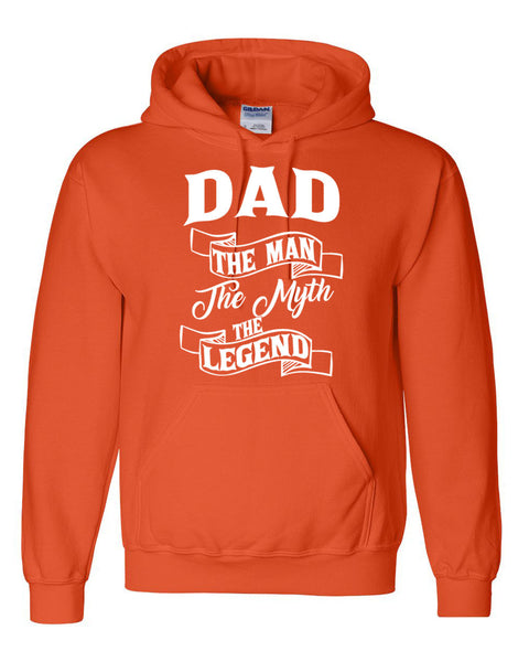 Dad the man the myth the legend hoodie birthday father's day Christmas xmas gift ideas for him