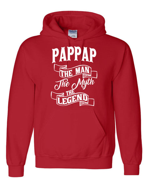 Pappap the man the myth the legend hoodie birthday father's day Christmas xmas gift ideas for him
