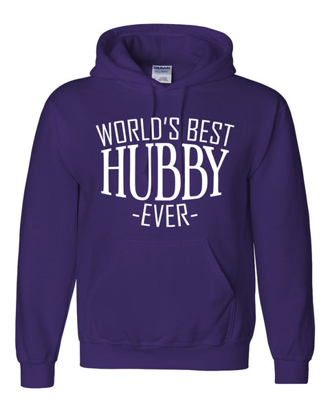 World's best hubby ever hoodie birthday christmas holiday anniversary gift ideas for best husband hubby for him