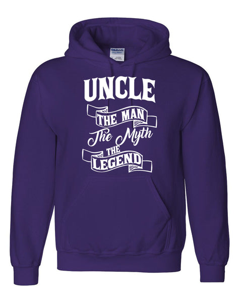 Uncle the man the myth the legend hoodie birthday Christmas xmas gift ideas for him