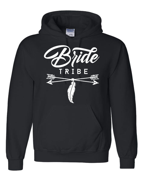 Bride tribe hoodie wedding bachelorette party hoodie for bride bridal party sweaters