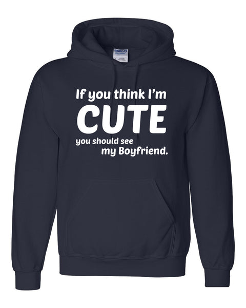 If you think I'm cute you should see my boyfriend Hoodie