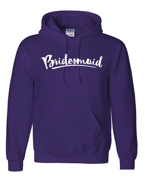 Bridesmaid  hoodie wedding bachelorette party sweater for bride bridal party