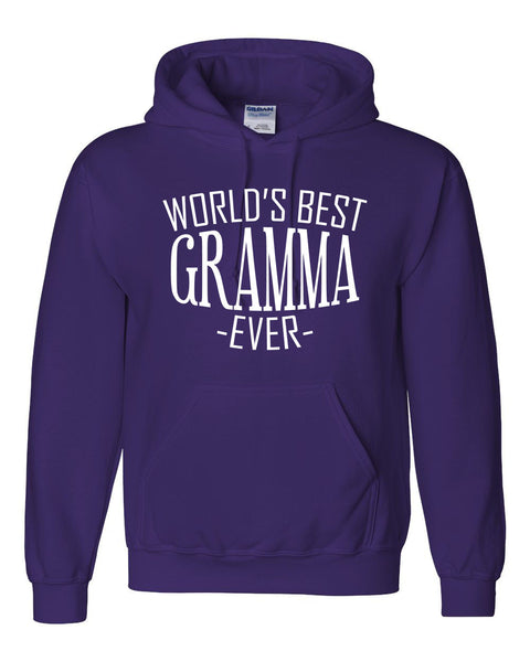 World's best gramma ever hoodie family mother's day birthday christmas holiday gift ideas  best grandma  grandmother