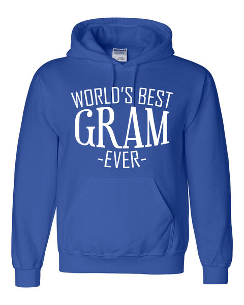 World's best gram ever hoodie family mother's day birthday christmas holiday gift ideas  best grandma  grandmother